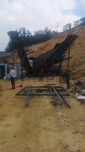 河北邢臺移動破碎制砂機,履帶移動顎式破碎站生產廠家直銷圖片