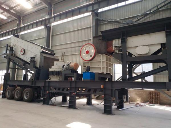 湖南株洲可移動制砂設備內部結構