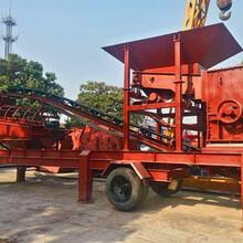 安徽宣城移動式破碎制砂機,車載可移動打砂機維修保養圖片