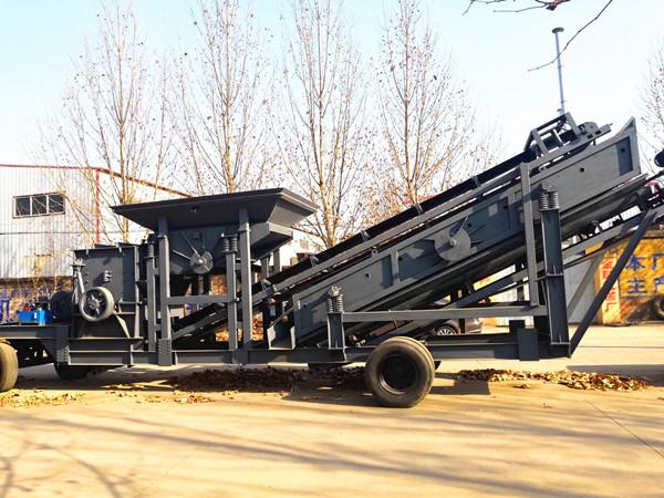 山東濟南建筑垃圾移動式制砂機,建筑垃圾移動式制砂機銷售廠家