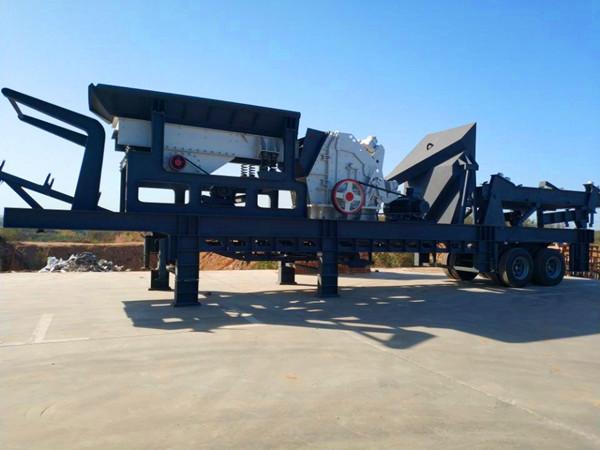 浙江杭州禾辉机械移动式石子破碎机经济效益高