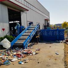 陜西漢中熱賣廢品工作服擠壓打包機廠圖片