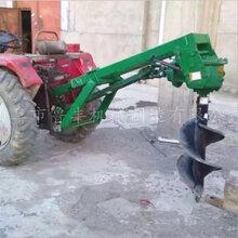 新疆昌吉铲车挖坑机维修图片