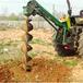 湖北咸寧高品質大棚搭建打洞機挖坑機