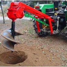 重庆巫山四轮车载式挖坑机钻眼机尺寸定制图片