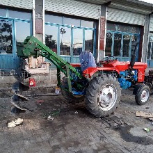 陕西安康植树造林挖坑机自产自销图片