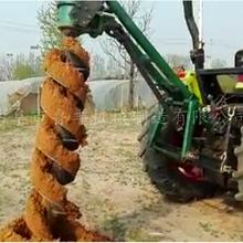 重庆南川大直径植树造林挖坑机打洞机定制图片