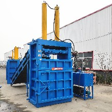 北京密云立式易拉罐打包机40吨液压打包机报价图片