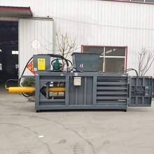 廠家直銷臥式廢紙皮壓包機120噸臥式廢紙打包機圖片
