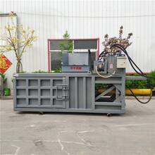 河北廊坊廢可樂瓶液壓臥式打包機生產圖片