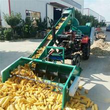 陕西安康商装载机上料大型玉米脱粒机图片图片