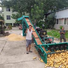 安微芜湖牵引式高产量玉米脱粒机厂家图片