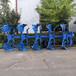 福建漳州拖拉机带的犁地机重型液压翻转犁视频