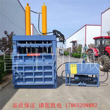 北京朝阳生活垃圾立式液压打包机厂家图片