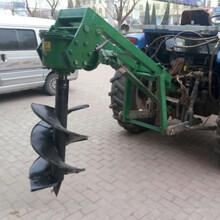 山东滨州阳信县大功率挖坑机植树挖坑机报价图片
