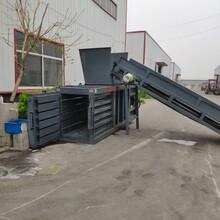 江苏镇江丹阳市立式液压打包机纸壳液压打包机视频图片