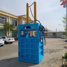 河南焦作塑料袋打包机立式液压打包机低价出厂图片