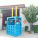 福建泉州中款卧式打包机旧纸箱液压打包机供应商