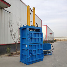 魯豐機械不銹鋼打包機,廣東不銹鋼立式液壓打包機售后保障圖片