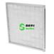 低价初效过滤器G1铝框平铺式白色过滤棉,厂家可定制尺寸
