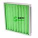 洪梅G4绿白棉铝框初效过滤器,?#20013;?#31354;气过滤器,初级过滤效果