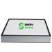 寮步精密五金厂喷涂车间高效过滤器更换,铝框无隔板过滤器,厂家可定制尺寸
