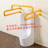 重庆不锈钢无障碍卫生间扶手残疾人尼龙卫浴把手老年人小便器抓杆卫生间扶手价格