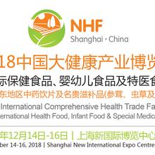 2018上海大健康產業博覽會/上海保健品展會/上海特醫食品展