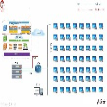 云桌面解决方案桌面虚拟化云云电脑租用YL141禹龙云办公云终端服务器图片