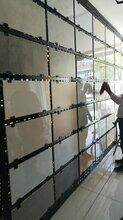 挂墙瓷砖样品展示架冲孔板地板砖陶瓷展示架图片