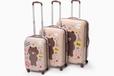 韓國Line布朗熊行李箱韓版旅行箱大號拉桿密碼箱可愛卡通萬向輪