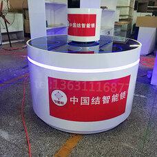北京供应密云,智能指纹锁展示柜,台面旋转