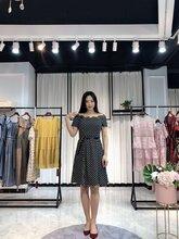 杭州一线大牌伊百丽品牌女装全大件连衣裙套装批发走份图片