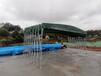 長沙大型推拉蓬移動伸縮雨棚廠家