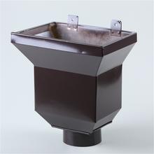 南安市铝合金落水管价格优质铝合金落水管批发厦门别墅排水管图片