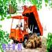忻州礦用四不像車后卸10噸礦用四不像車采用750礦山胎