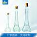 铁塔形玻璃瓶工艺装饰?#30475;?#36719;木塞DIY装砂艺术瓶