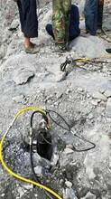 廊坊适用采石场青石劈裂棒参数图片