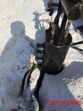 高新区地基开挖劈裂机孔径多大图片