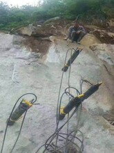 静安路面混凝土分解岩石劈裂机图片