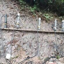 南京沉积岩破裂分解劈裂机图片