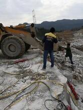 新余水下破拆硬石岩石怎么快速劈裂兴劈石器厂家供货图片