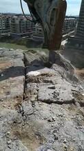 烟台拆除坚硬的基坑岩石大型液压劈石器报价图片