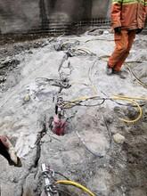 汕头目前除了放炮安全开采矿石开采山体石头机器产品介绍及用途图片