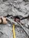 杭州無聲爆破劈裂機裂石設備降低礦山使用說明