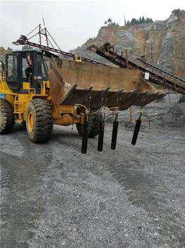 青海岩石石头太硬了用液压分裂棒厂家地址