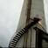 烟囱螺旋钢梯安装