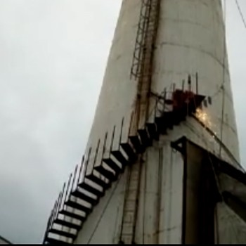 烟囱盘梯安装