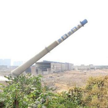 沧州水泥烟囱人工拆除