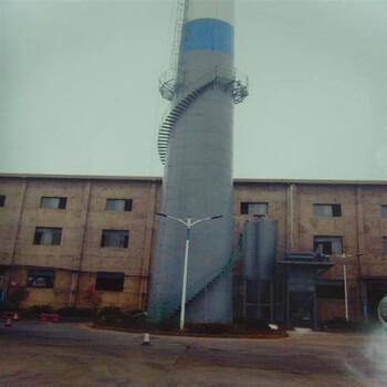 烟囱旋转钢梯安装-宁波施工单位全国施工